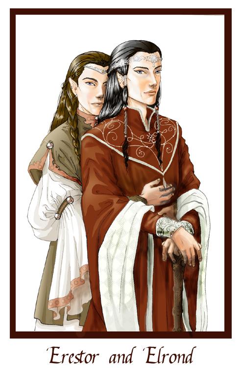 Erestor and Elrond